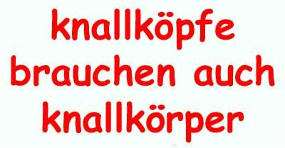 knallkopf