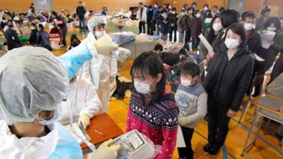 Nuclear catastrophe fear after earthquake and tsunami in Japan