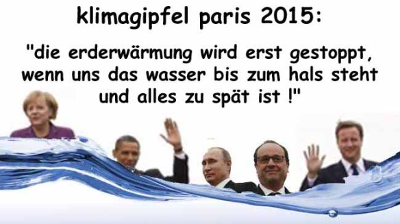 klimagipfel paris 2015