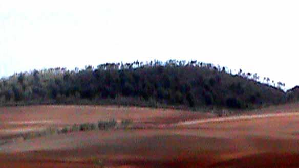 winterlandschaft in andalusien