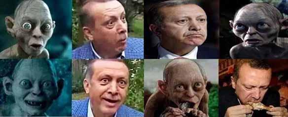 erdogan gollum